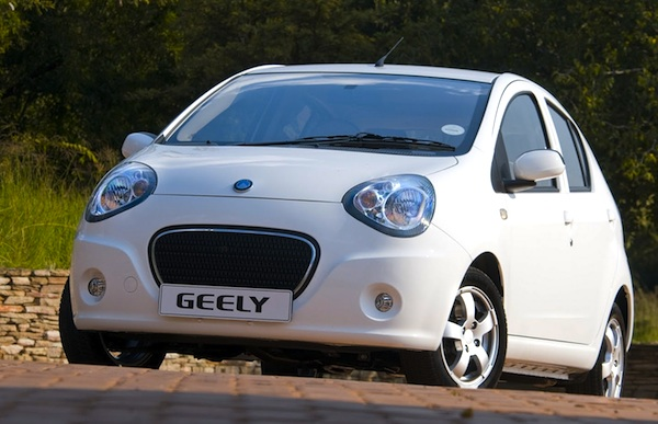 Geely Worldwide 2013