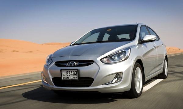 Hyundai Accent Egypt June 2014