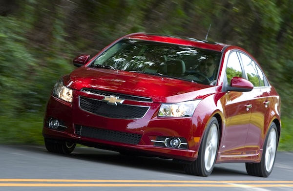 Mauritius Full Year 2011 Chevrolet Cruze Best Seller Updated