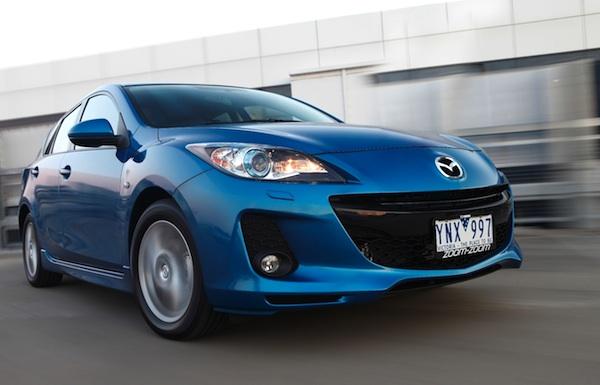 Mazda3 Australia 2012