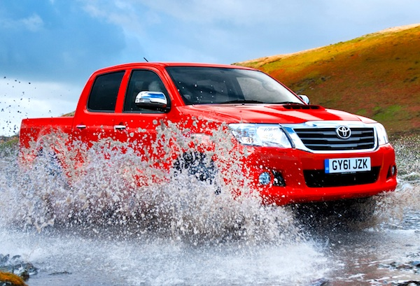 Toyota Hilux New Zealand June 2013