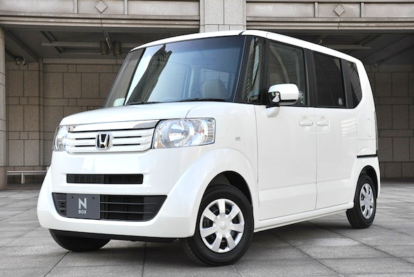 Japan Kei Cars February 2012 Honda Nbox Now On Podium Best