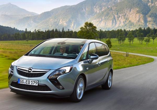 Opel Zafira World 2012