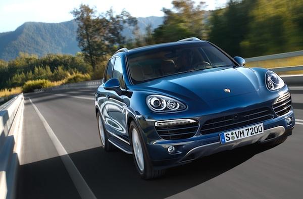 Porsche Cayenne World 2012