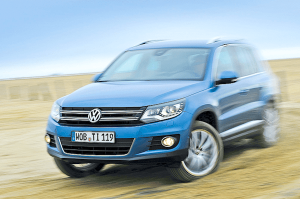 VW Tiguan Germany February 2014. Picture courtesy of autobild.de