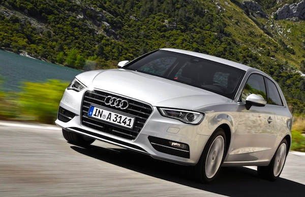 Audi A3 Europe April 2013