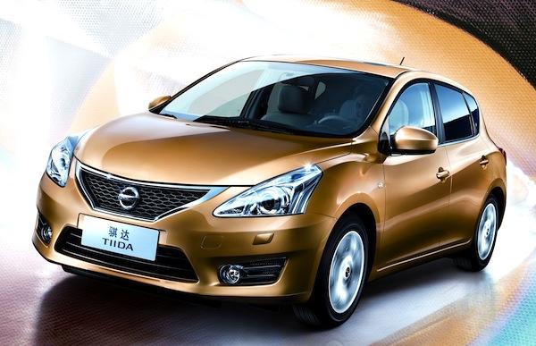 Nissan Tiida Taiwan January 2013