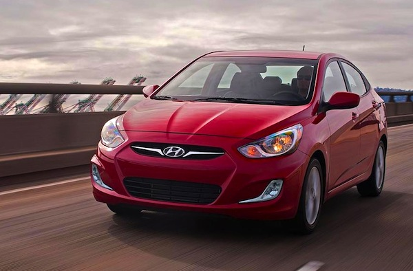 Hyundai Accent Ukraine February 2013