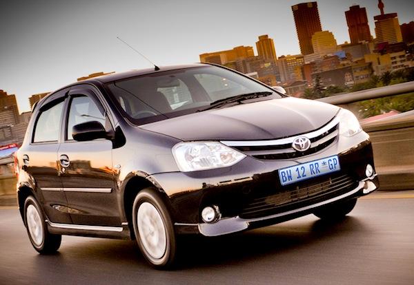 Toyota Etios South Africa February 2013
