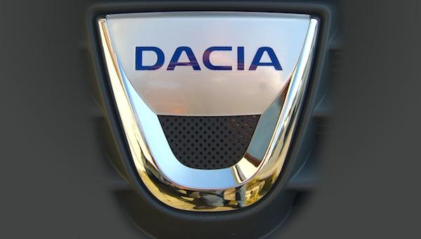 Dacia Logo France August 2016