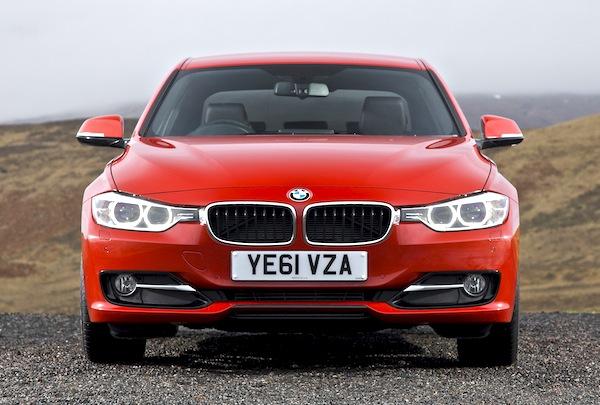 BMW 3 Series Netherlands January 2013