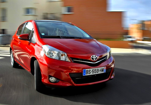 Toyota Yaris World 2012
