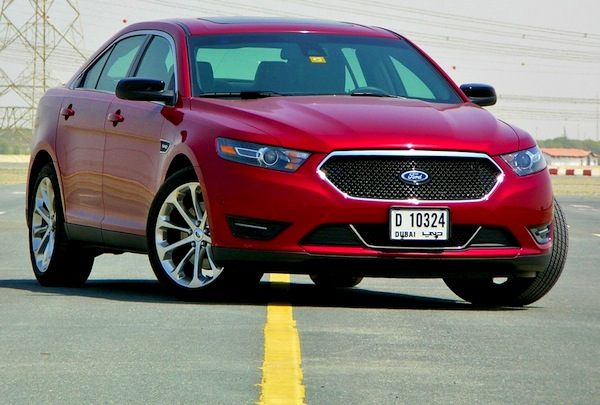 Ford Taurus Gulf June 2013. Picture courtesy of DriveArabia.com