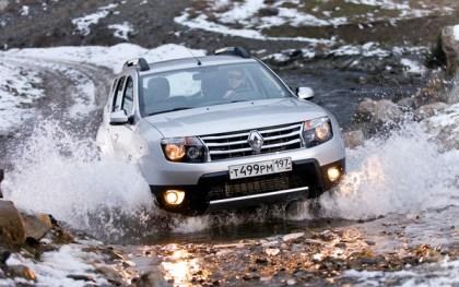 Renault Duster Russia October 2012