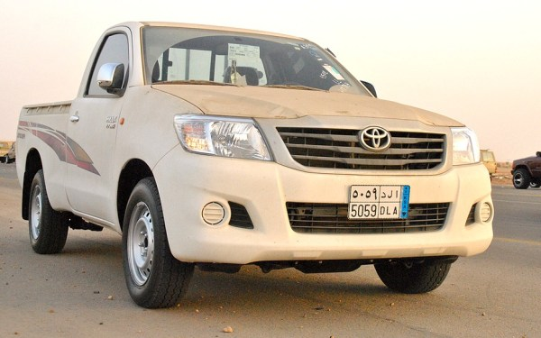 Toyota Hilux Gulf 2012