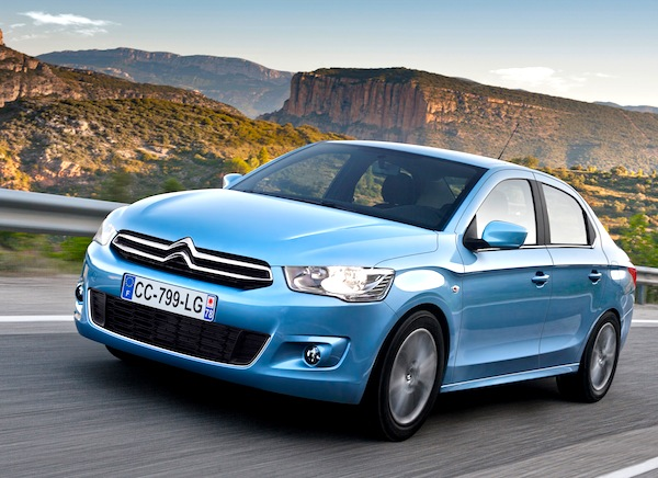 Citroen C-Elysee Rep of Macedonia June 2015