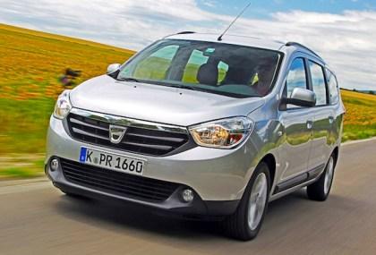 Dacia Lodgy. Picture courtesy of Auto Bild