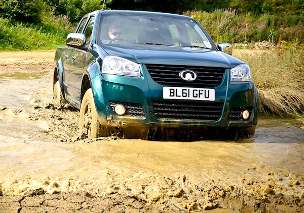 Great Wall Steed UK June 2013. Picture courtesy of carproductstested.com