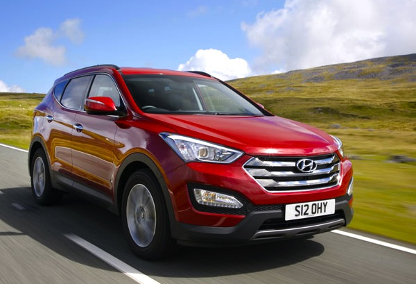 Hyundai Santa Fe World 2013. Picture courtesy of whatcar.com