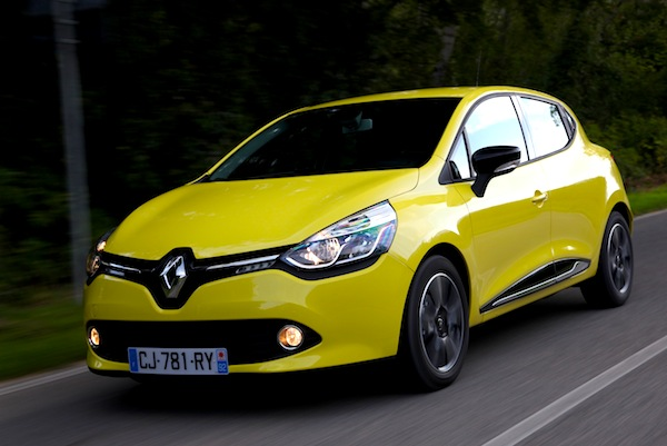 Europe November 2012 Renault Clio Back On Podium For The First Time