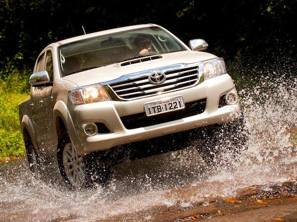 Toyota Hilux Samoa 2014