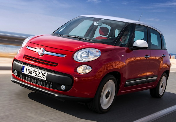 Fiat 500L World June 2013