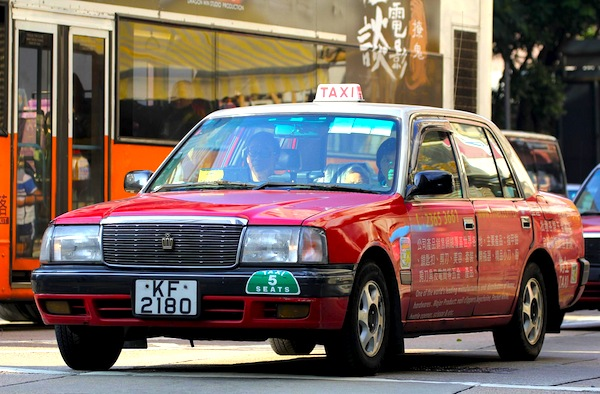 Toyota Crown LPG Taxi Hong Kong 2015. Picture courtesy of neeravbhatt via Flickr