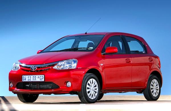 Toyota Etios Liva South Africa 2013