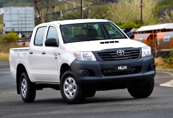 Toyota Hilux Tonga 2014