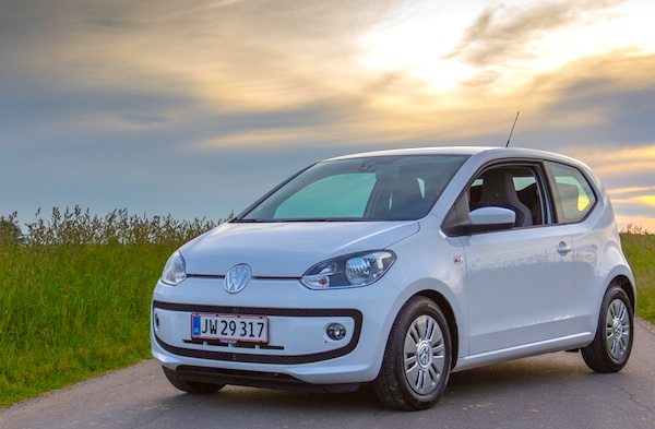 VW Up! Denmark March 2016