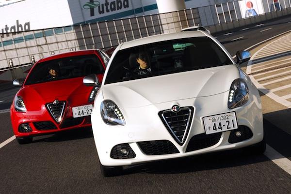 Alfa Romeo Giulietta Japan 2012