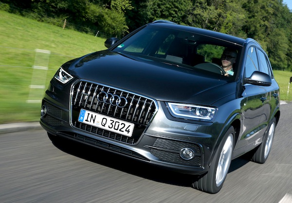Audi Q3 Europe 2012