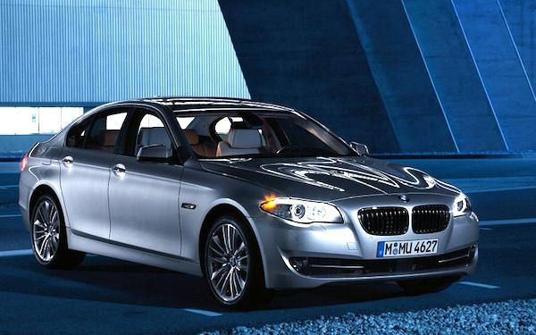 BMW 5 Series Belgium 2012
