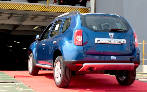 Dacia Duster UK January 2013