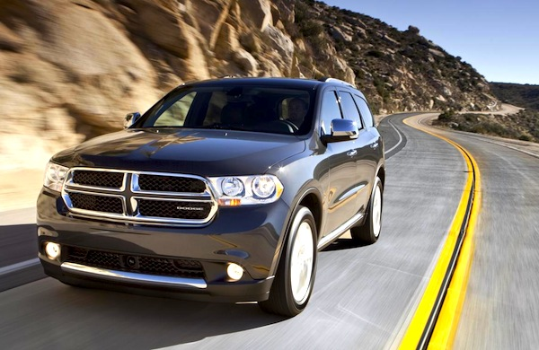 Dodge Durango USA July 2013