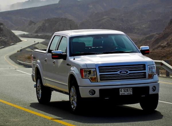 Ford F-Series Qatar December 2012. Picture courtesy of DriveArabia.com