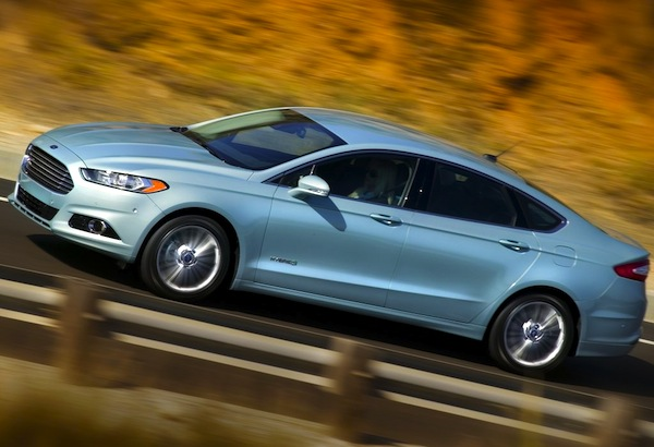 Ford Fusion Hybrid USA January 2013