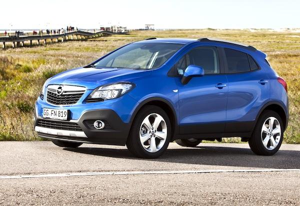 Opel Mokka France January 2013