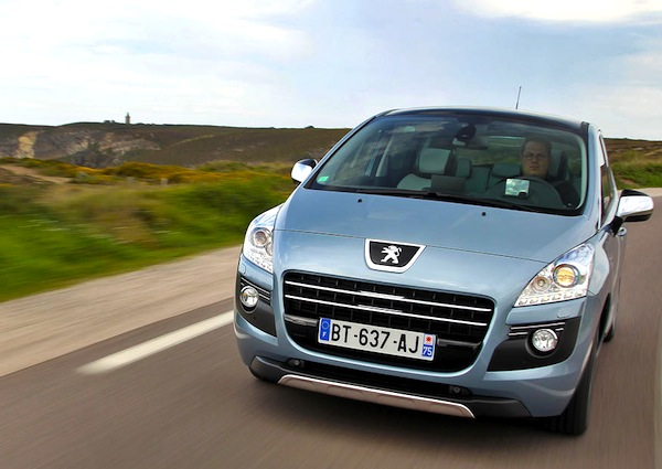 Peugeot 3008 Lithuania