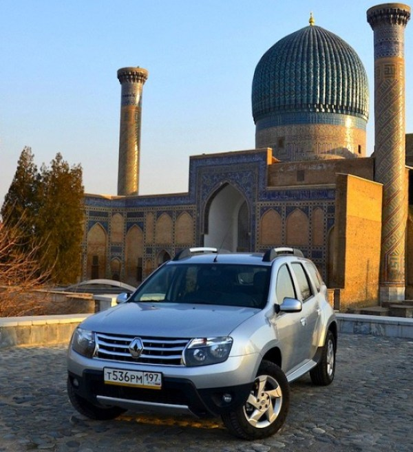 Renault Duster Russia January 2013. Picture courtesy of zr.ru
