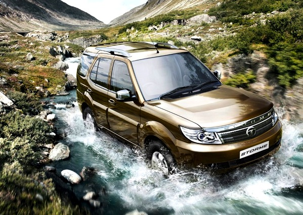 Tata Safari Storme India January 2013