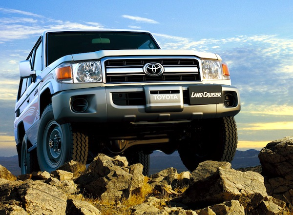 Toyota Land Cruiser Kenya December 2012