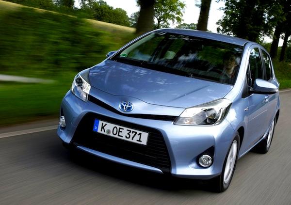 Toyota Yaris Germany 2012