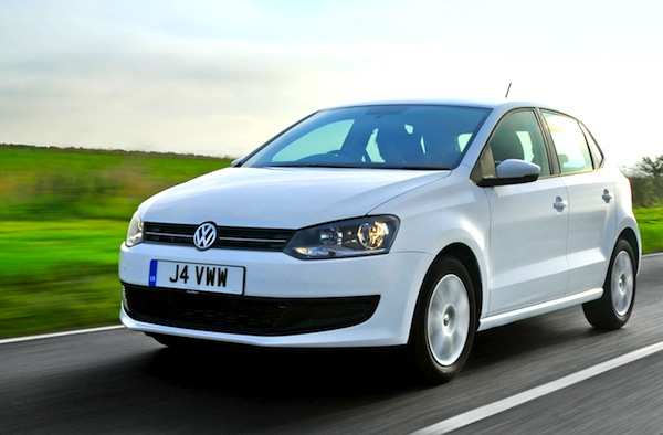 VW Polo India January 2013