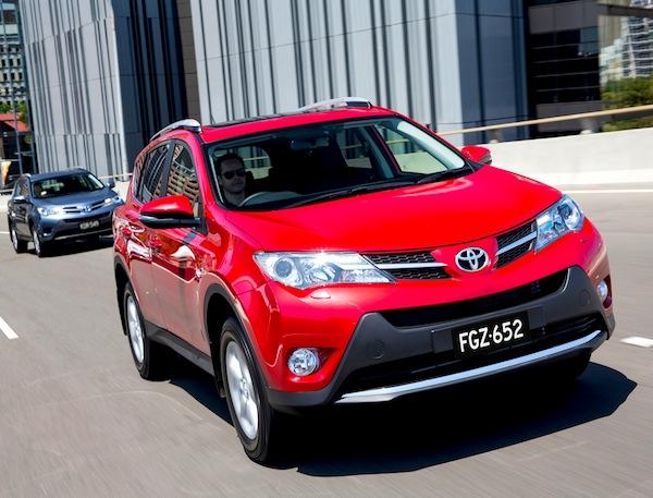 Toyota RAV4 New Zealand 2013