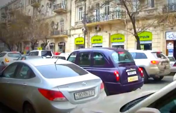 Baku Street Scene 3
