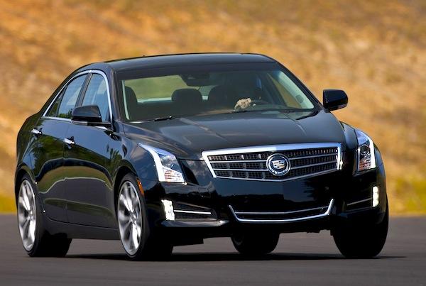 Cadillac ATS USA February 2013