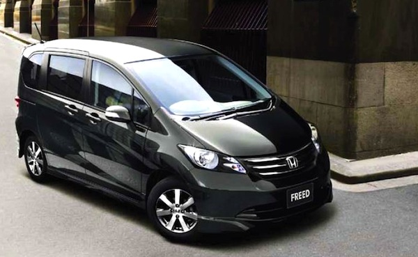 Honda Freed Hong Kong February 2013