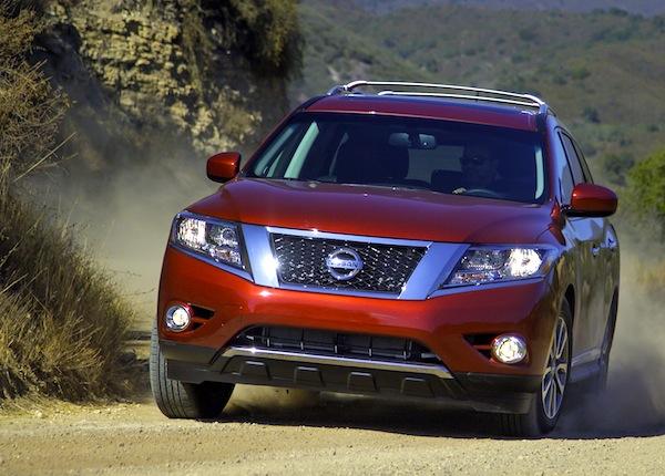 Nissan Pathfinder USA February 2013