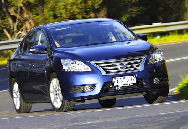 Nissan Pulsar Australia 2013. Picture courtesy of Car Advice